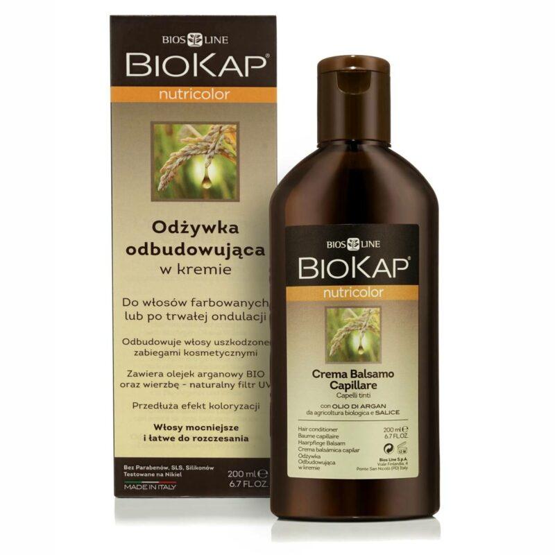 Biokap Nutricolor Odżywka Odbudowująca, 200ml