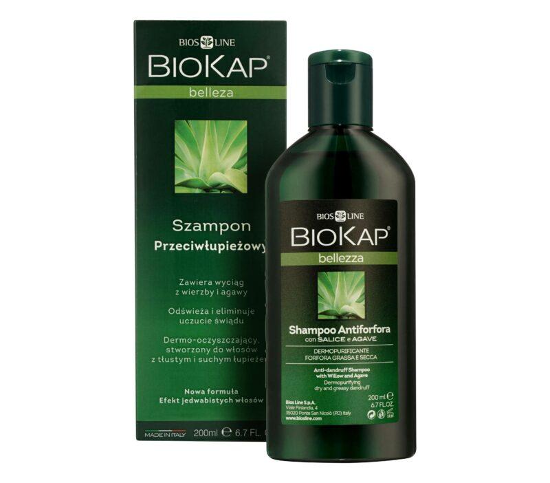 Biokap Bellezza Szampon Przeciwłupieżowy, 200ml