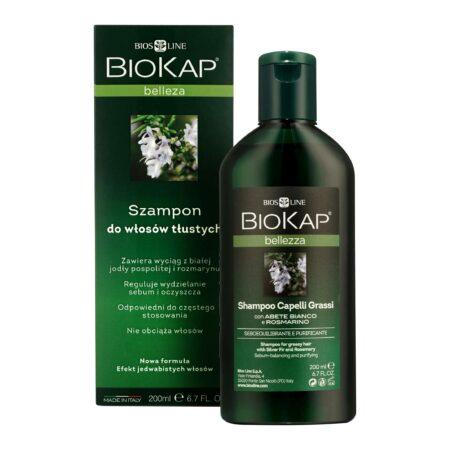 Biokap Bellezza Szampon Regenerująco – Naprawczy, 200ml