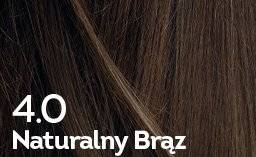 Farba do włosów Naturalny Brąz
