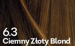 Farba do włosów Ciemny Złoty Blond