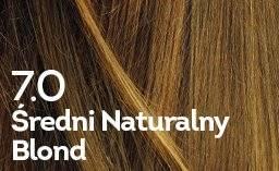 Farba do włosów średni naturalny blond
