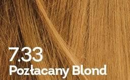 Farba do włosów pozłacany blond