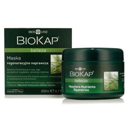 Biokap Bellezza Maska Regenerująco – Naprawcza, 200ml