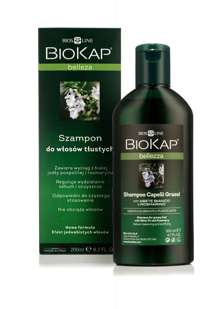 Biokap Bellezza Szampon Do Włosów Przetłuszczających Się