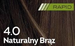 Farba do włosów Naturalny Brąz Rapid