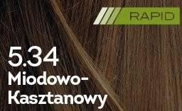 Farba do włosów Miodowo-Kasztanowy Rapid