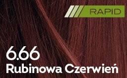 Farba do włosów Rubinowa Czerwień Rapid