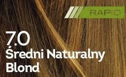 Farba do włosów Średni Naturalny Blond Rapid