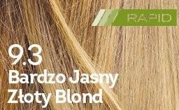 Farba do włosów Bardzo Jasny Złoty Blond Rapid