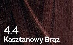 Farba do włosów Kasztanowy Brąz