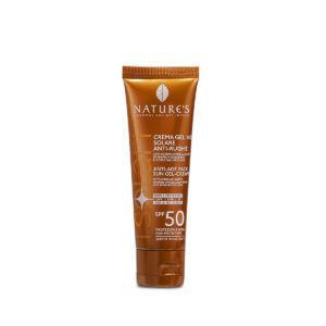 Isolari Krem przeciwsłoneczny zapobiegający starzeniu twarzy i ust z bioaktywną organiczną wodą z wakuoli i kwasem hialuronowym, 50 ml
