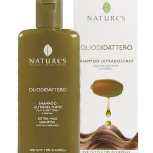 Olio di Dattero Nawilżający Szampon do włosów z Olejkiem z Daktyli i Amarantusa