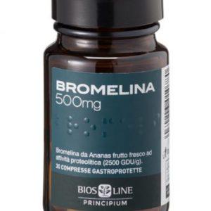 Bromelina 500 mg 30 tabletek dojelitowych