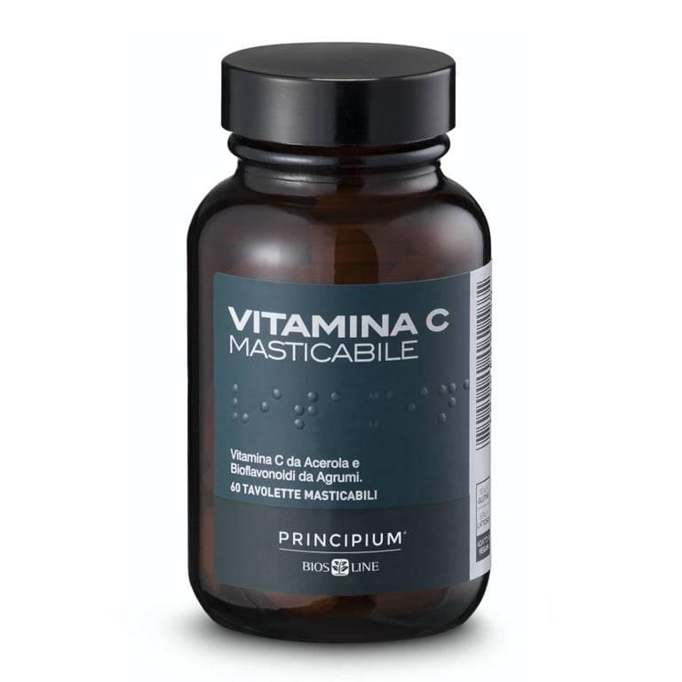 Witamina C Naturalna Do żucia 60 tabletek