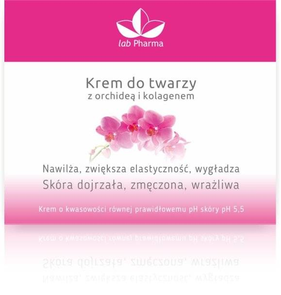 Krem do twarzy z orchideą i kolagenem - 50ml