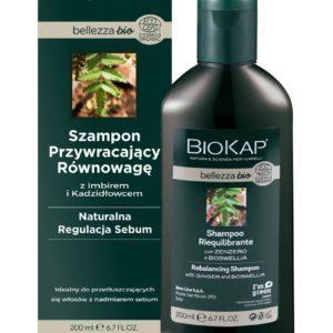 Biokap Bellezza BIO Szampon Przywracający Równowagę - 200ml