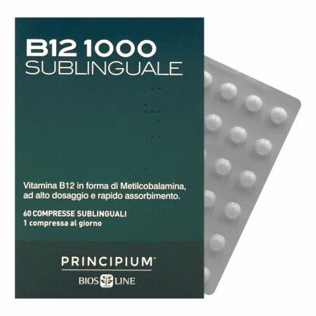 B12 Metylokobalamina 1000 podjęzykowa, 60 tabletek