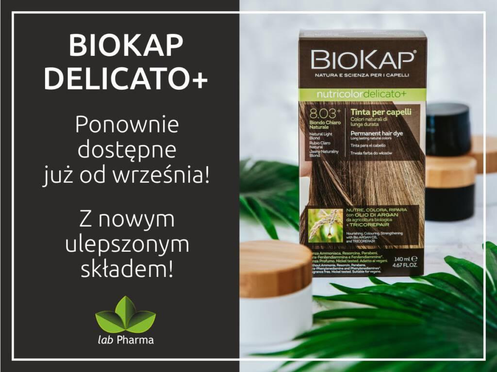 Farba Pielęgnacyjna Biokap Nutricolor Delicato +
