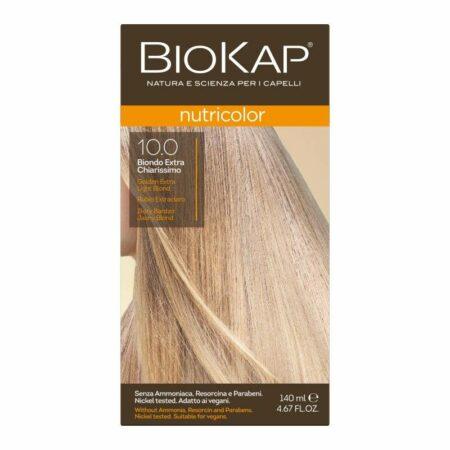 Farba Biokap Nutricolor, 10.0 Bardzo Jasny Złoty Blond