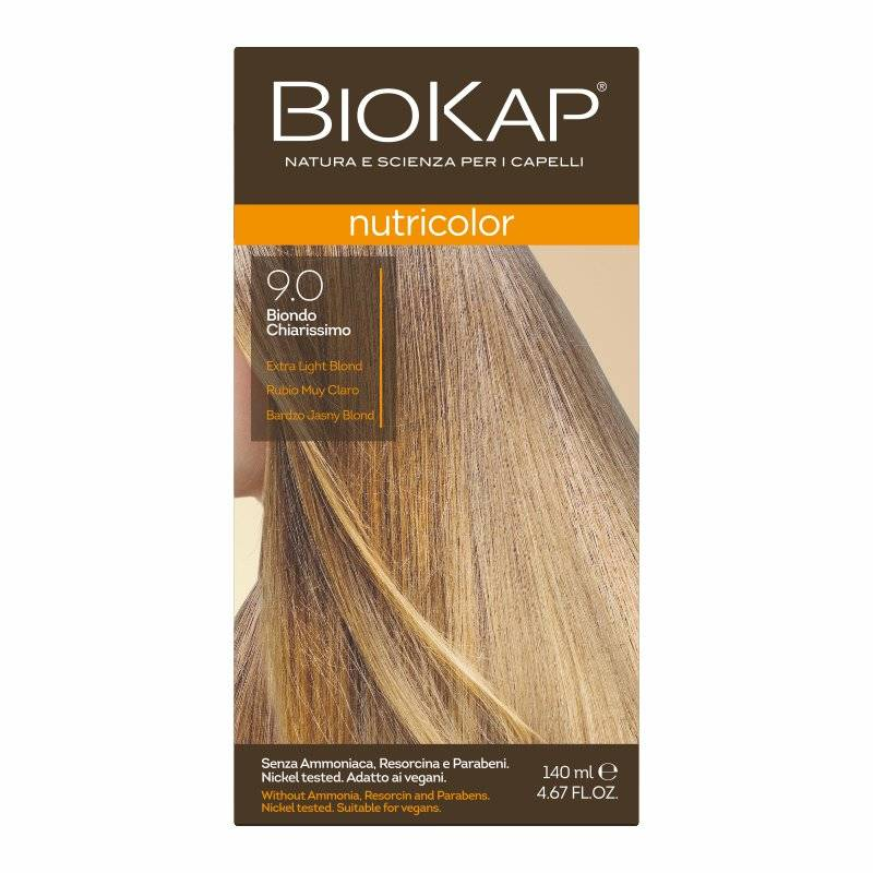 Farba Biokap Nutricolor, 9.0 Bardzo Jasny Blond
