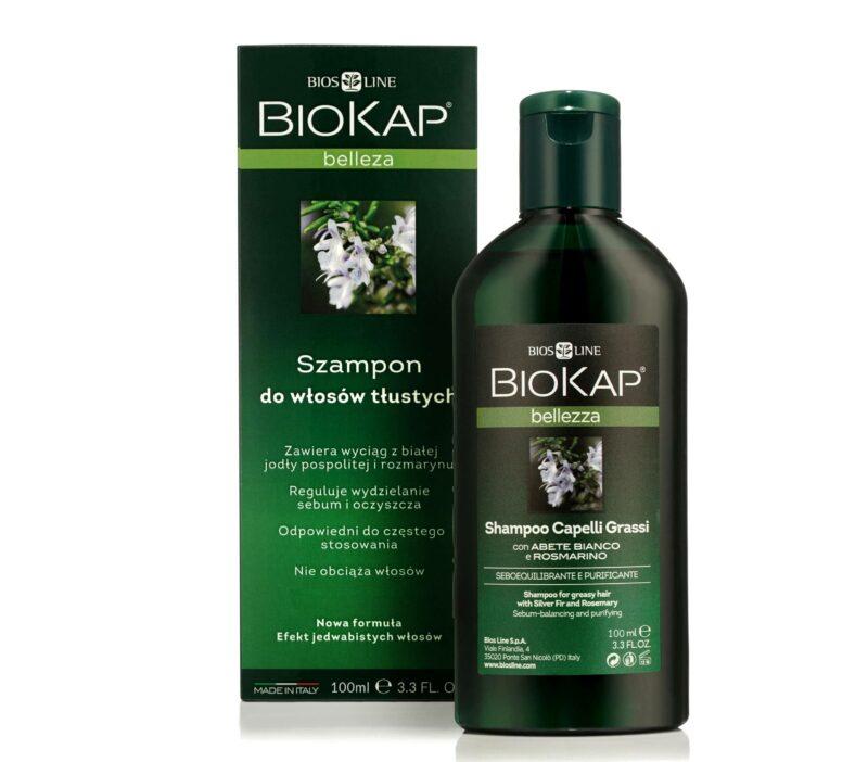 Biokap Bellezza Szampon Do Włosów Przetłuszczających Się, 100ml