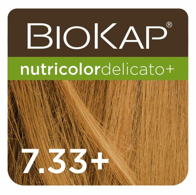 Farba Biokap Delicato + 7.33 Pozłacany Blond