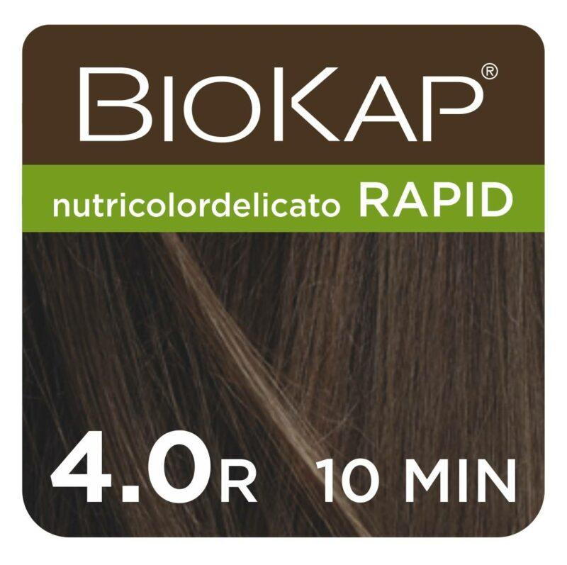 Farba Biokap Delicato Rapid, 2.9 Ciemny Czekoladowy Kasztan