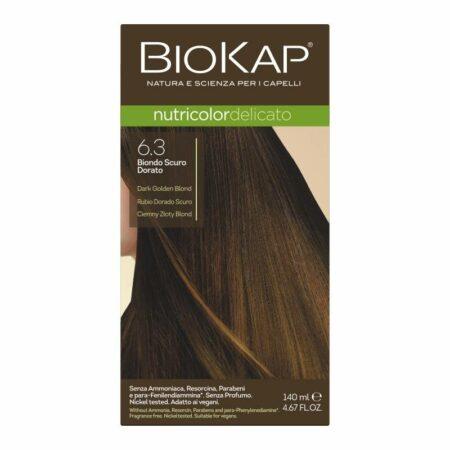 Farba Biokap Delicato, 6.3 Ciemny Złoty Blond