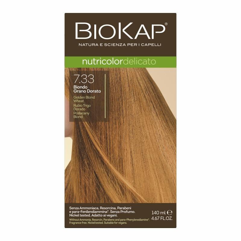 Farba Biokap Delicato, 7.33 Pozłacany Blond
