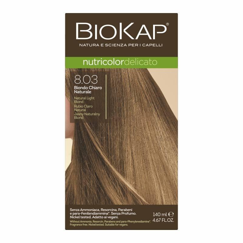 Farba Biokap Delicato, 8.03 Jasny Naturalny Blond
