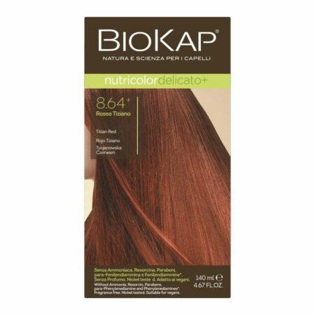 Farba Biokap Delicato +, 8.64 Tycjanowska Czerwień