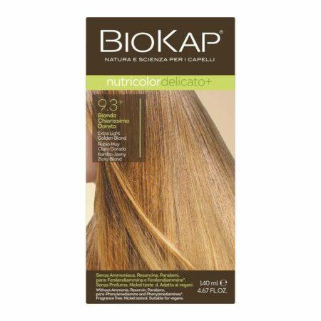Farba Biokap Delicato +, 9.3 Bardzo Jasny Złoty Blond