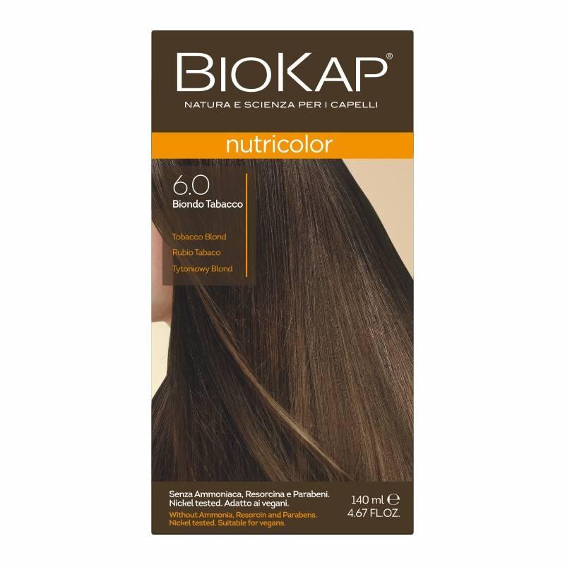 Farba Biokap Nutricolor, 6.0 Tytoniowy Blond