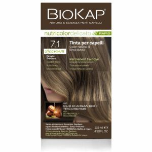 Farba Biokap Delicato Rapid, 7.1 Szwedzki Blond - NOWOŚĆ