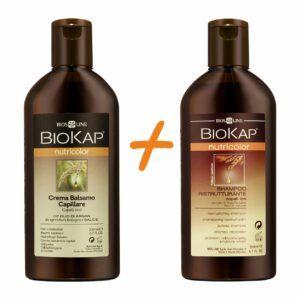 zestaw biokap włosy farbowane