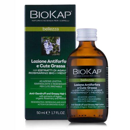 Biokap Lotion Przywracający Równowagę przeciw łupieżowi i nadmiarowi sebum, 50ml - NOWOŚĆ