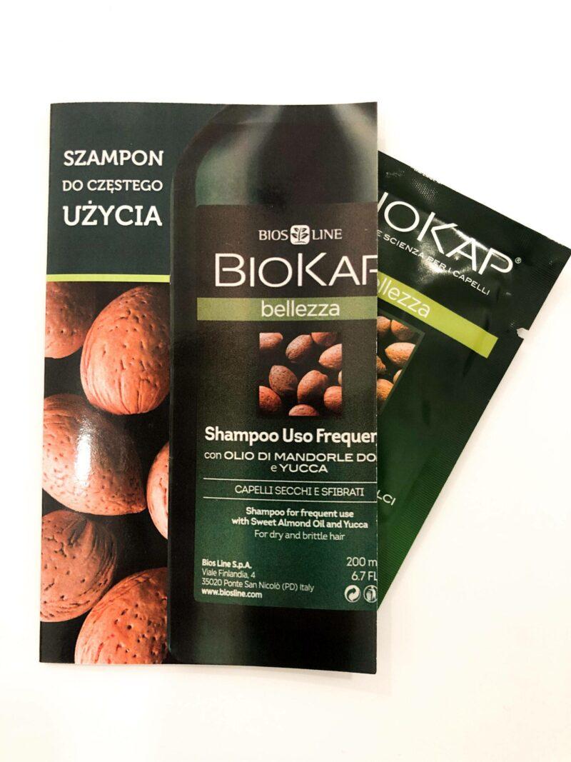 PRÓBKA Biokap Bellezza-Szampon Del. Do Częstego Użycia 5ml
