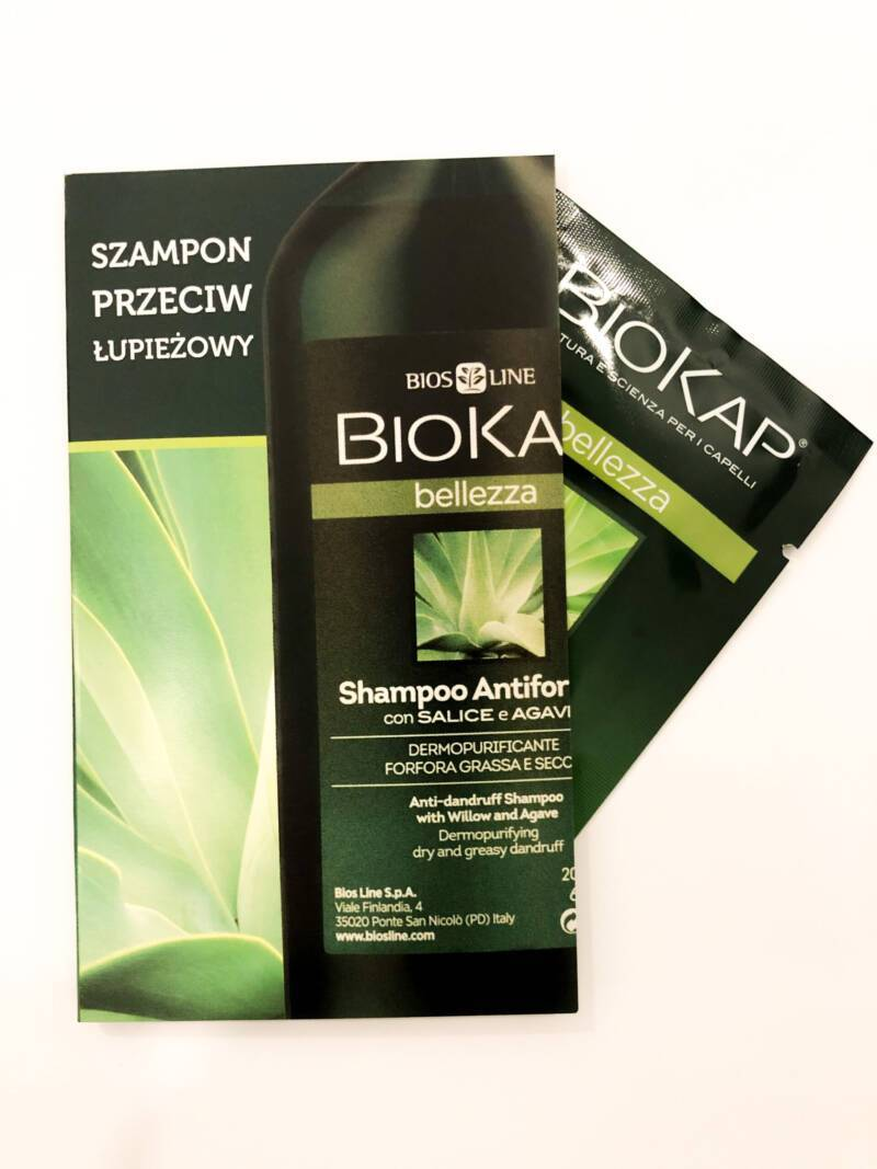 PRÓBKA Biokap Bellezza- Szampon Kojący Na Bazie Olejku-5ml