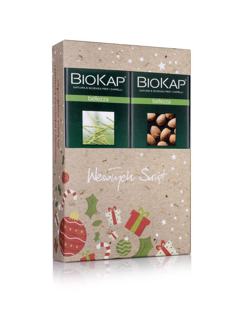 Zestaw świąteczny szamponów BIOKAP