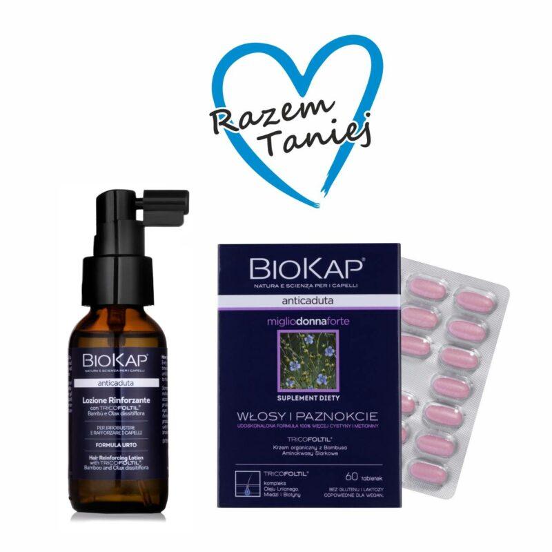 Zestaw do włosów wypadających IV (tabletki dla kobiet, szampon)